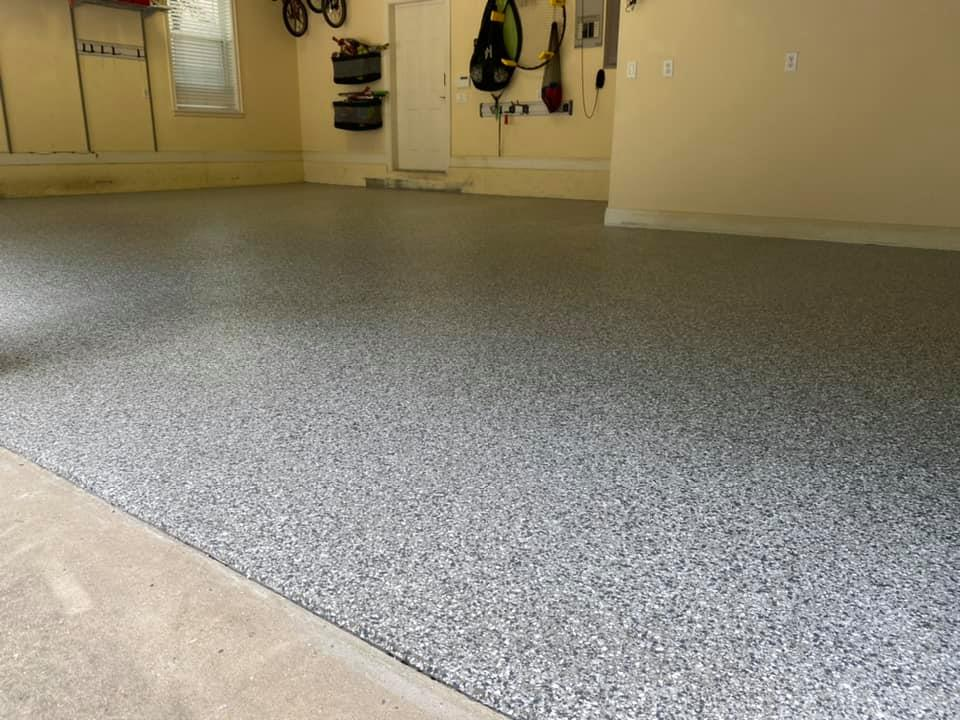 Concrete Coatings, Garage Fllor, Gainesville, Jacksonville