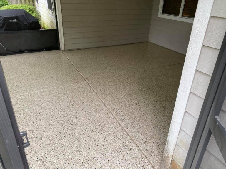 Patio Flooring | Concrete Coating | Gainesville | Jacksonville